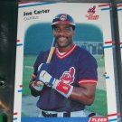 Joe Carter 88 Fleer baseball card