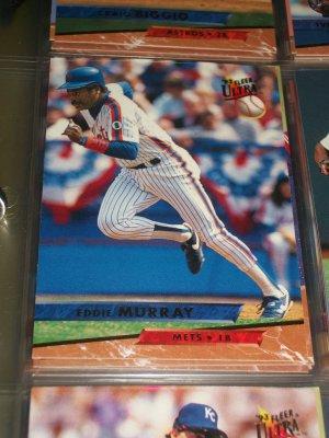 Eddie Murry 93 Fleer Ultra baseball card