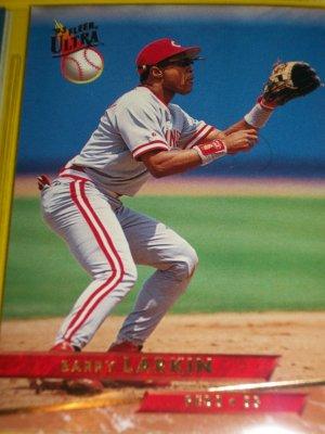 Barry Larkin 93 fleer ultra baseball card