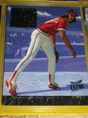 "Dennis Eckersley 93 fleer ultra ""Career Highlights"" RARE baseball card"