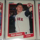 Roger Clemens 1990 Fleer Baseball card