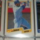 Bo Jackson 1990 Fleer baseball card