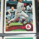 Dustin Pedroia 2011 Topps baseball card