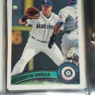 Justin Smoak 2011 Topps baseball card
