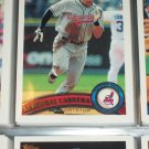 Asdrubal Cabrera 2011 Topps Baseball Card