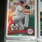 Cole Hammels 2011 Topps Baseball Card