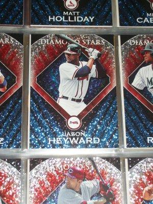 """Jason Heyward 2011 Topps """"Diamond Stars"""" Baseball card"""
