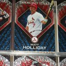 "Matt Holiday 2011 Topps ""Diamond Stars"" Baseball Cards"