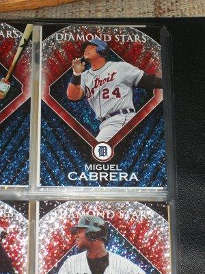 "Miguel Cabrera 2011 Topps ""Diamond Stars"" Baseball Card"