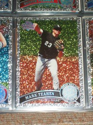 "Mark Teahen 2011 Topps ""Diamond Anniversary"" baseball card"