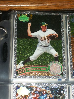 "Cliff Pennington 2011 Topps ""Diamond Anniversary"" baseball card"