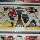 "2011 Topps ""Diamond Duos"" McCutchen+Alvarez baseball card"