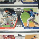 "2011 Topps ""Diamond Duos"" Posey+Feliz baseball card"
