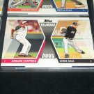 "2011 Topps ""Diamond Duos"" Chapman+Sale baseball card"