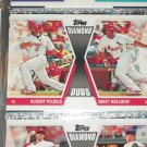 "2011 Topps Halliday/Puljos ""Diamond Duos"" baseball card"