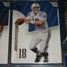 Peyton Manning 2008 UD SP football card