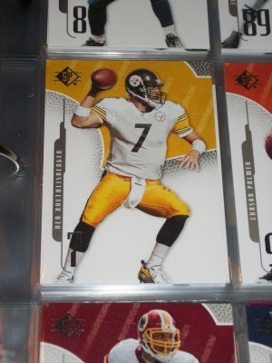 Ben Roethlisberger 2008 UD SP football card