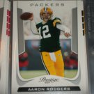 "Aaron Rodgers 2008 UD SP ""Pro Bowl Performers"" Football Card"