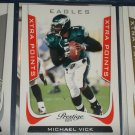 "Michael Vick 2011 Panini Prestige RARE ""Xtrea Points"" INSERT football card"