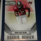 "Arrelious Benn 2011 Panini Prestige RARE ""Rookie Review"" Football Card"