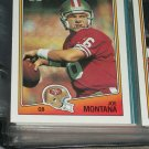 Joe Montana 1988 Topps football Card