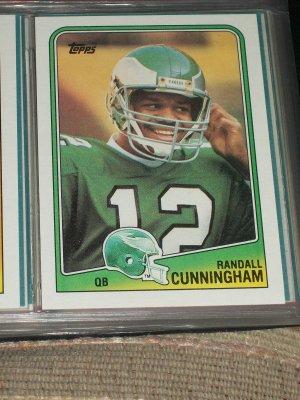 Randall Cunningham 1988 Topps Football Card