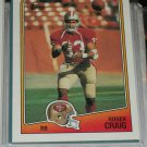 Roger Craig 1988 Topps Football Card