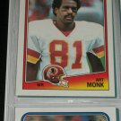 Art Monk 1988 Topps Football Card