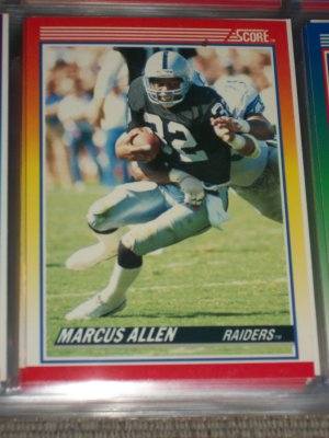 Marcus Allen 1990 Score Football Card