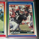 Bo Jackson 1990 Score Football Card
