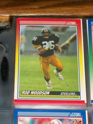 Rod Woodson 1990 Score Football Card
