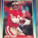 Steve Young 1990 Score football card