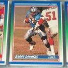 Barry Sanders 1990 Score Football Card