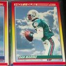 """Dan Marino RARE 1990 Score """"Hot Gun"""" Football Card"""