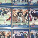 1990 Pro Bowlers Reggie White, Allen+Singletary Pro Set Football Cards