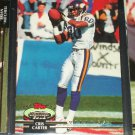 Chris Carter 1992 Topps Stadium Club Football Card