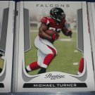 Michael Turner 2011 Panini Prestige Football Card