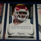 DeMarco Murray 2011 Panini Prestige Football Card- ROOKIE