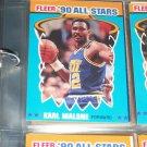 Karl Malone 1990 Fleer All Star Basketball Card