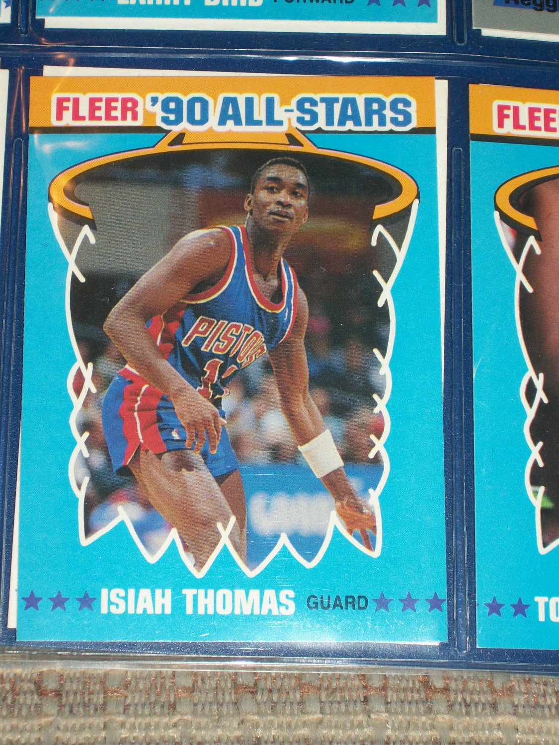 isiah thomas 1990 fleer all
