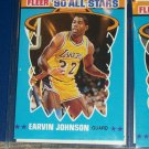 "Earvin ""MAGIC"" Johnson 1990 Fleer All-Star Basketball Card"