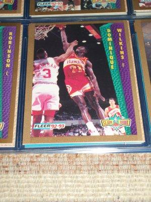 "Dominique Wilkins 92-93 ""Slam Dunk"" Basketball Card"