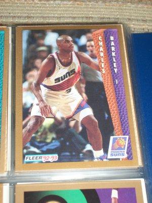 Charles Barkley 92-93 Fleer Basketball Card