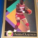 Akeem Olajuwan Skybox Basketball Card