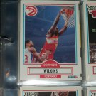 Dominique Wilkins 1990 Fleer Basketball Card
