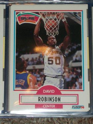 David Robinson 1990 Fleer Basketball Card
