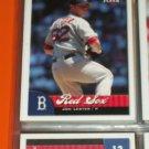 Jon Lester 2007 Fleer Baseball Card