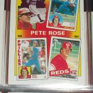 "Peter Rose RARE 1986 insert-The Rose Years ""83/84/85"" baseball card"