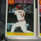 "Peter Rose RARE 1986 Insert- 85 Record Breaker ""Most Lifetime Hits"" baseball card"