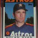 Nolan Ryan 1986 Topps Baseball Card